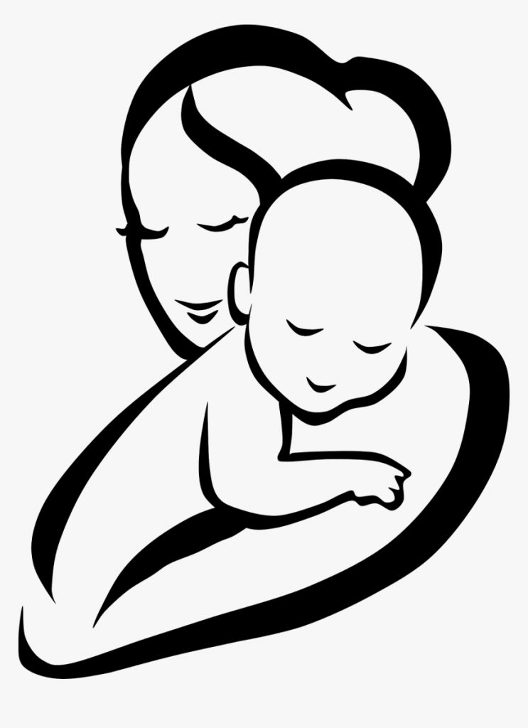 mother child infant clip art mother and ba clipart png