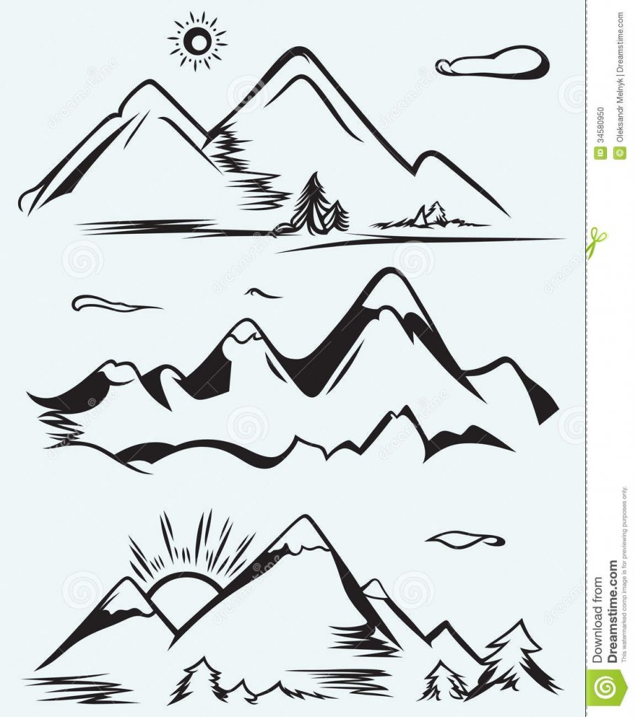 mountain range clipart panda free clipart images