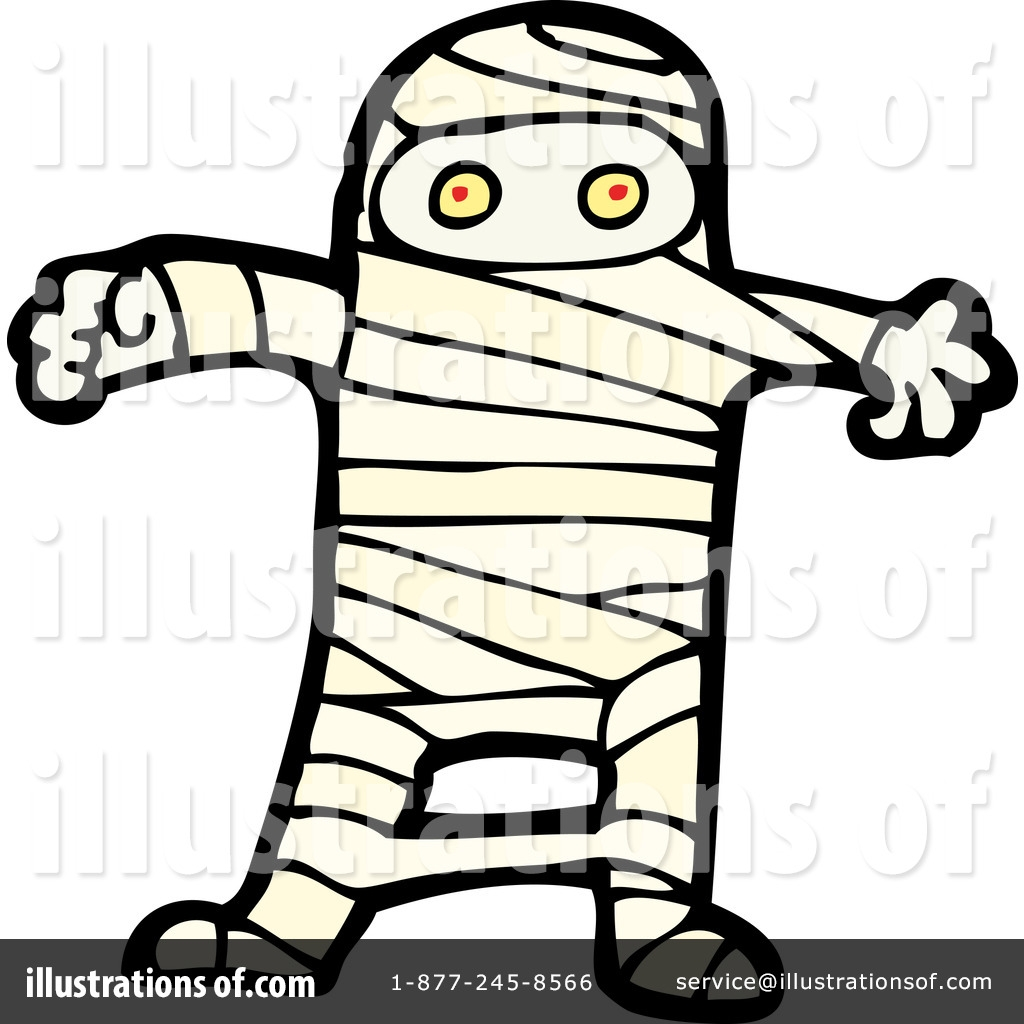 mummy clipart 1116571 illustration lineartestpilot