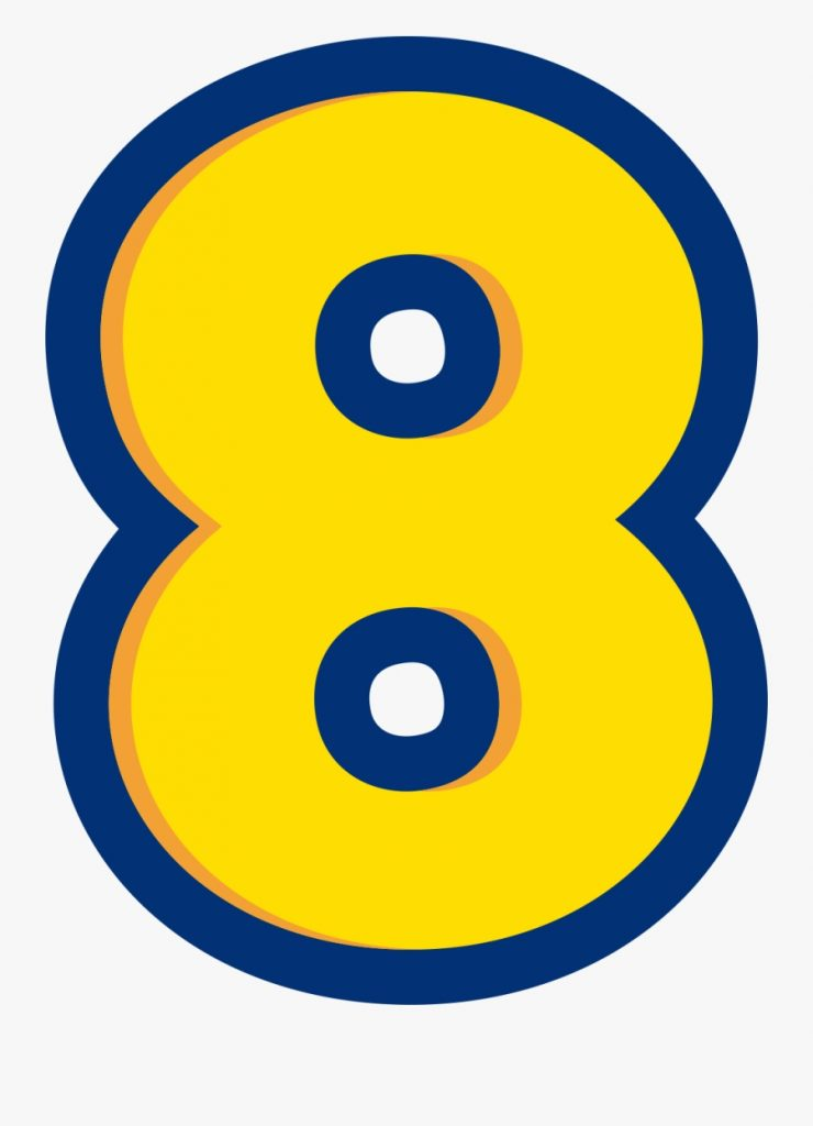 numbers numero 8 toy story free transparent clipart