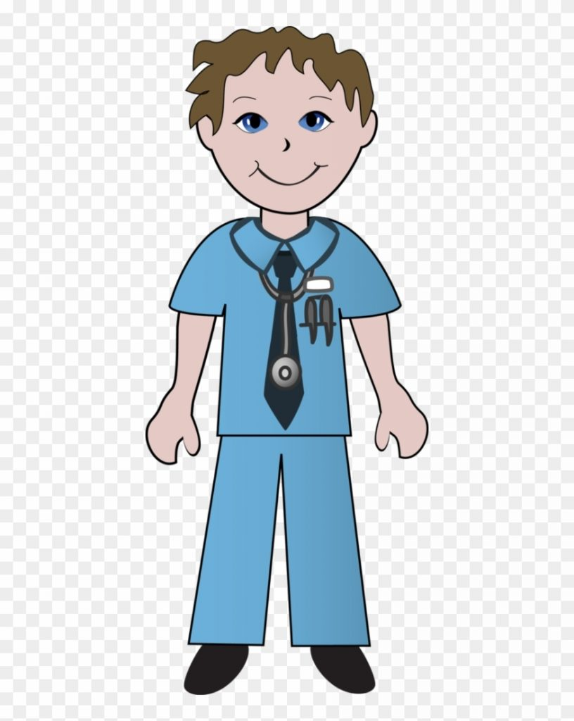 nurse clipart doctors and nurses of male and female nurse