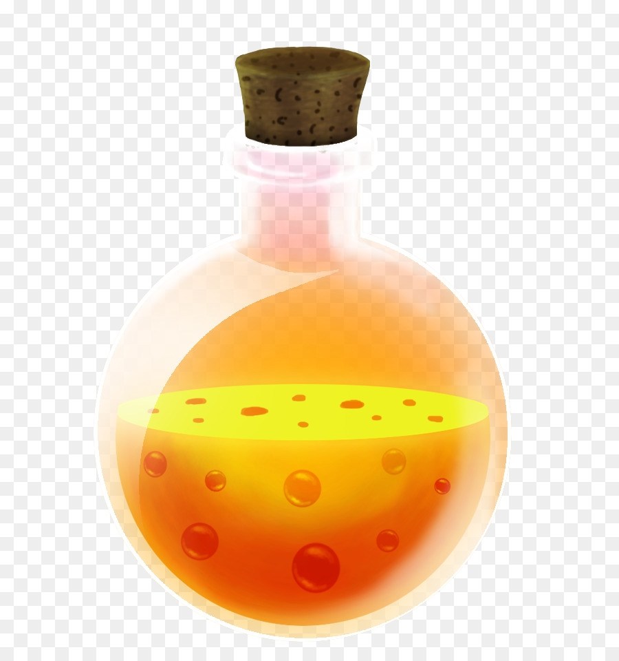 orange background clipart magic orange bottle