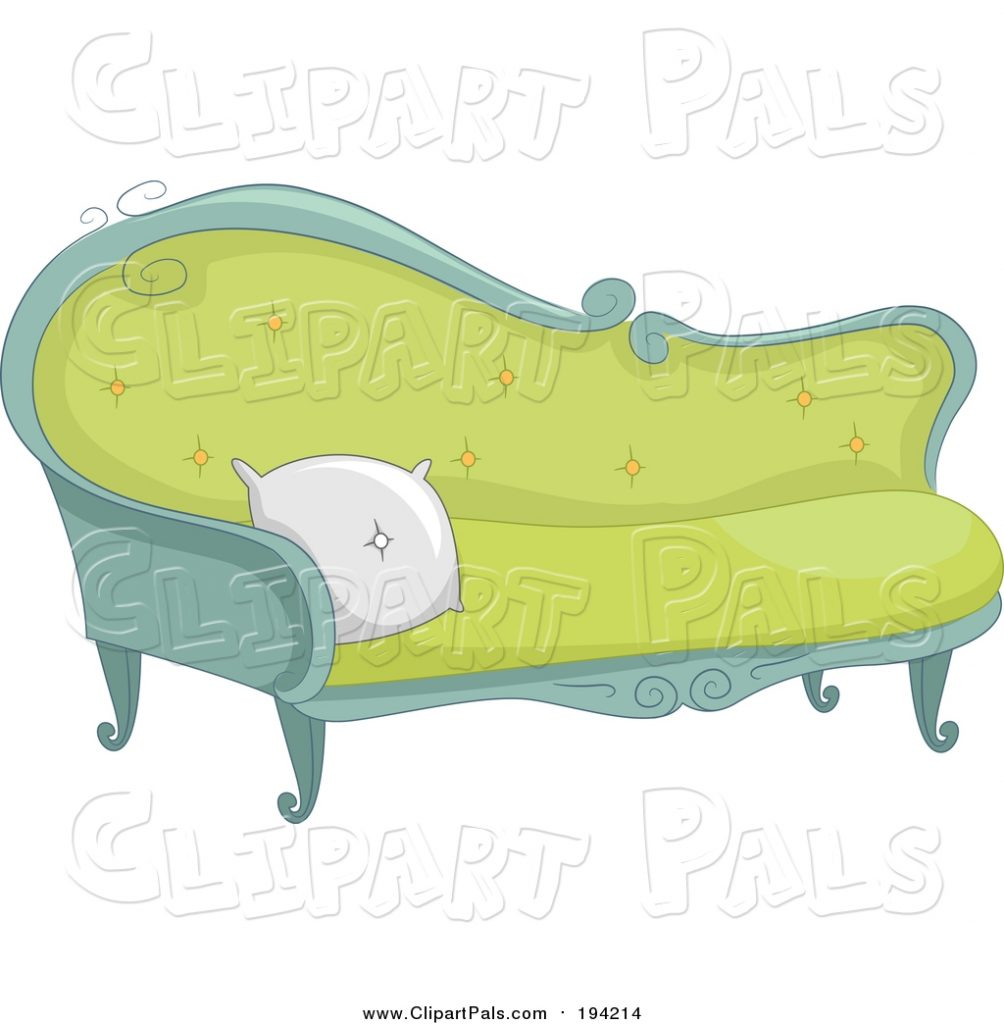pal clipart of a fancy sofa bnp design studio 194214