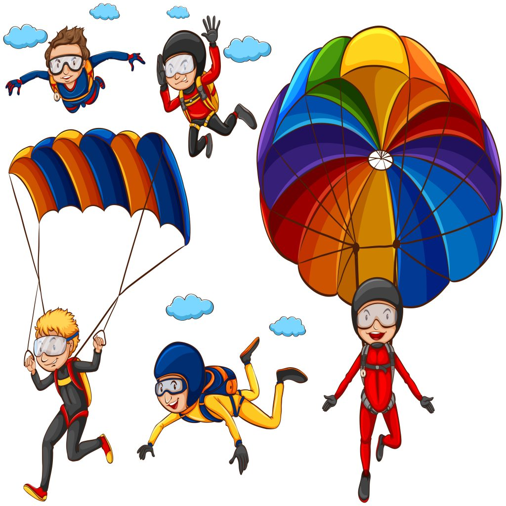 parachute download free vectors clipart graphics vector art