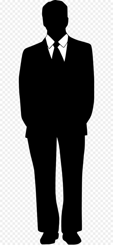 person cartoon clipart suit tuxedo silhouette
