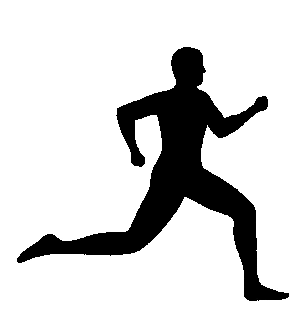 person running black and white man running clipart wikiclipart