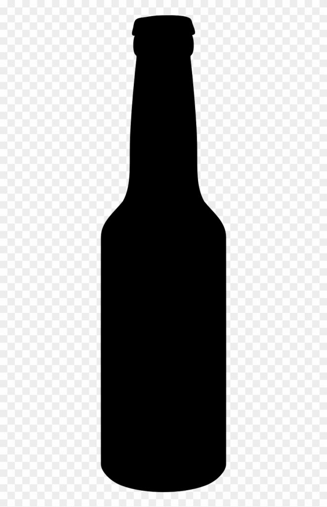 picture freeuse download beer bottle clipart black black