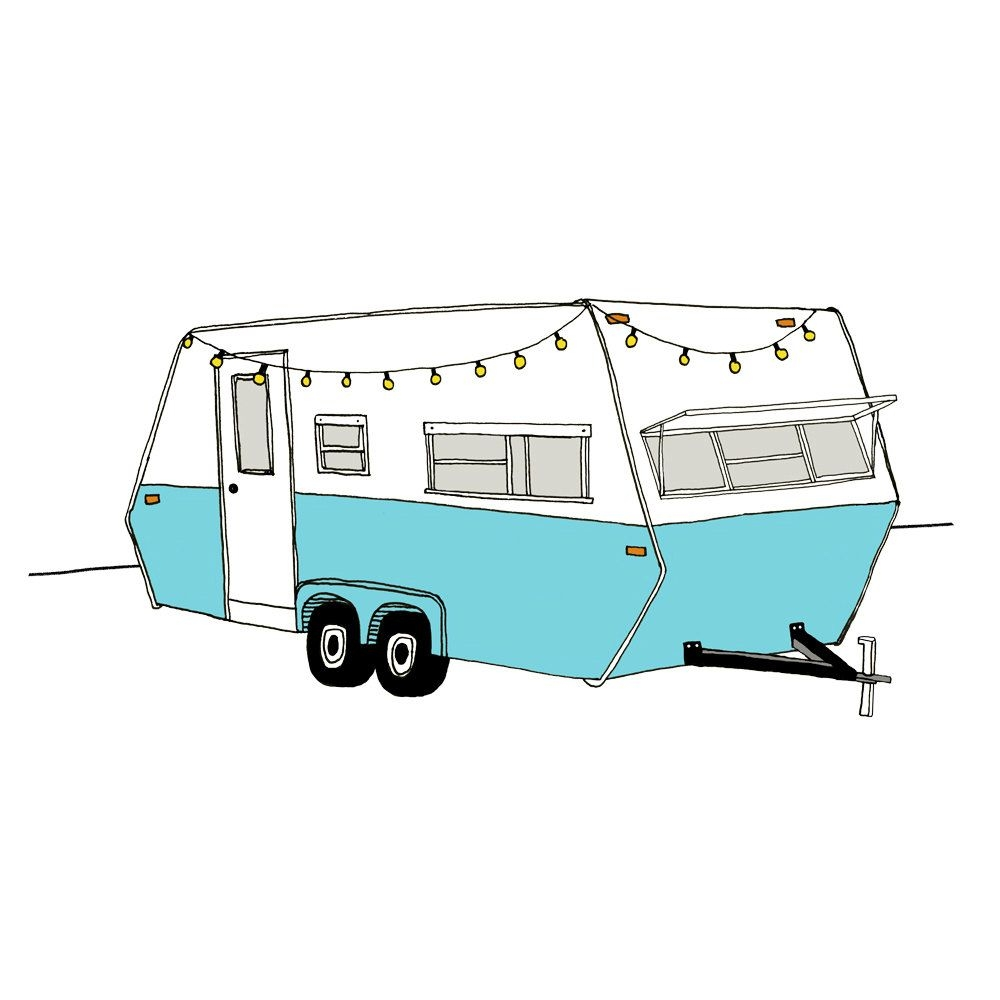 pin on clipart travel trailers