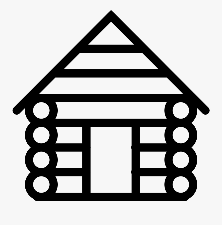 png file svg log cabin icon free transparent clipart