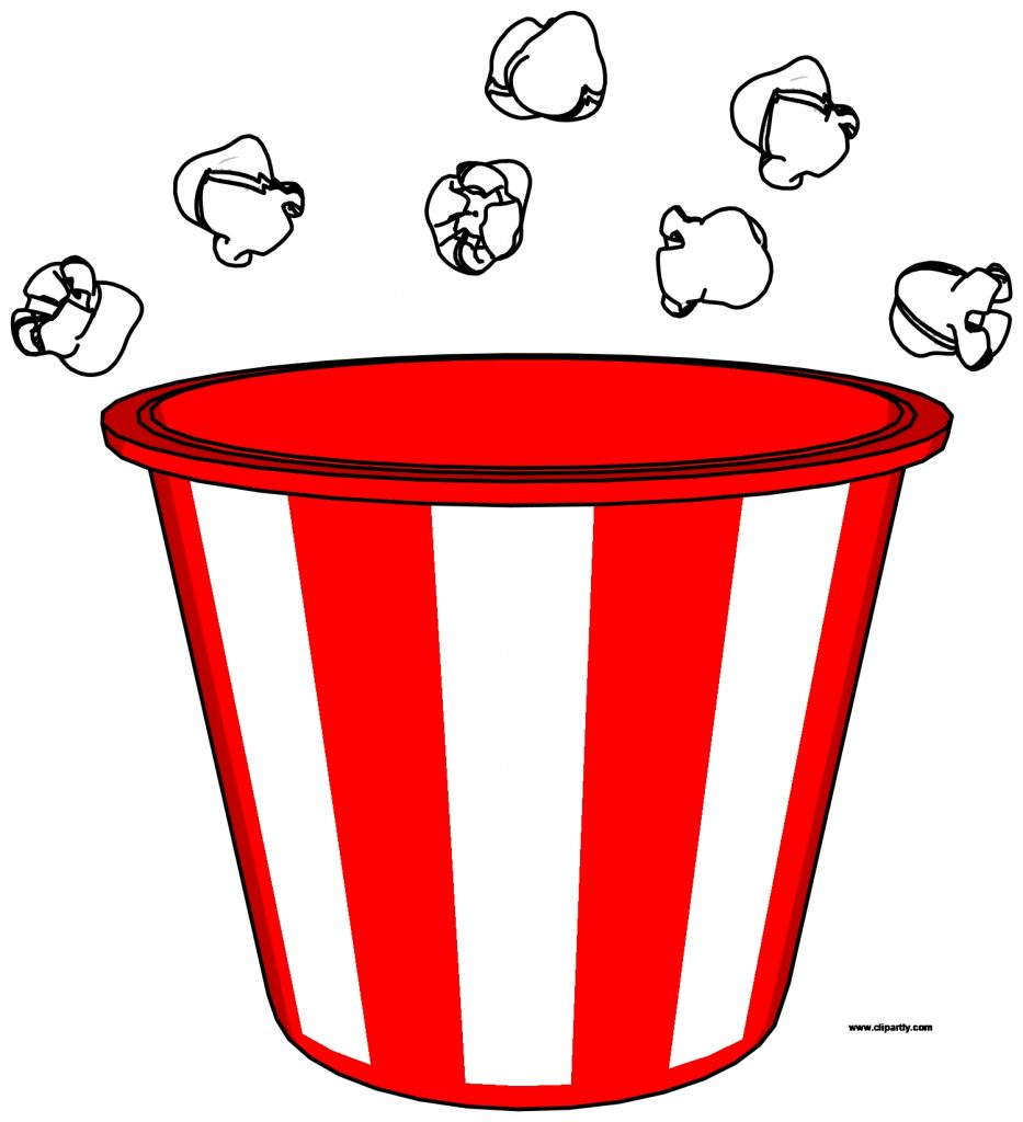 popcorn bucket and pop clipart png clipartly