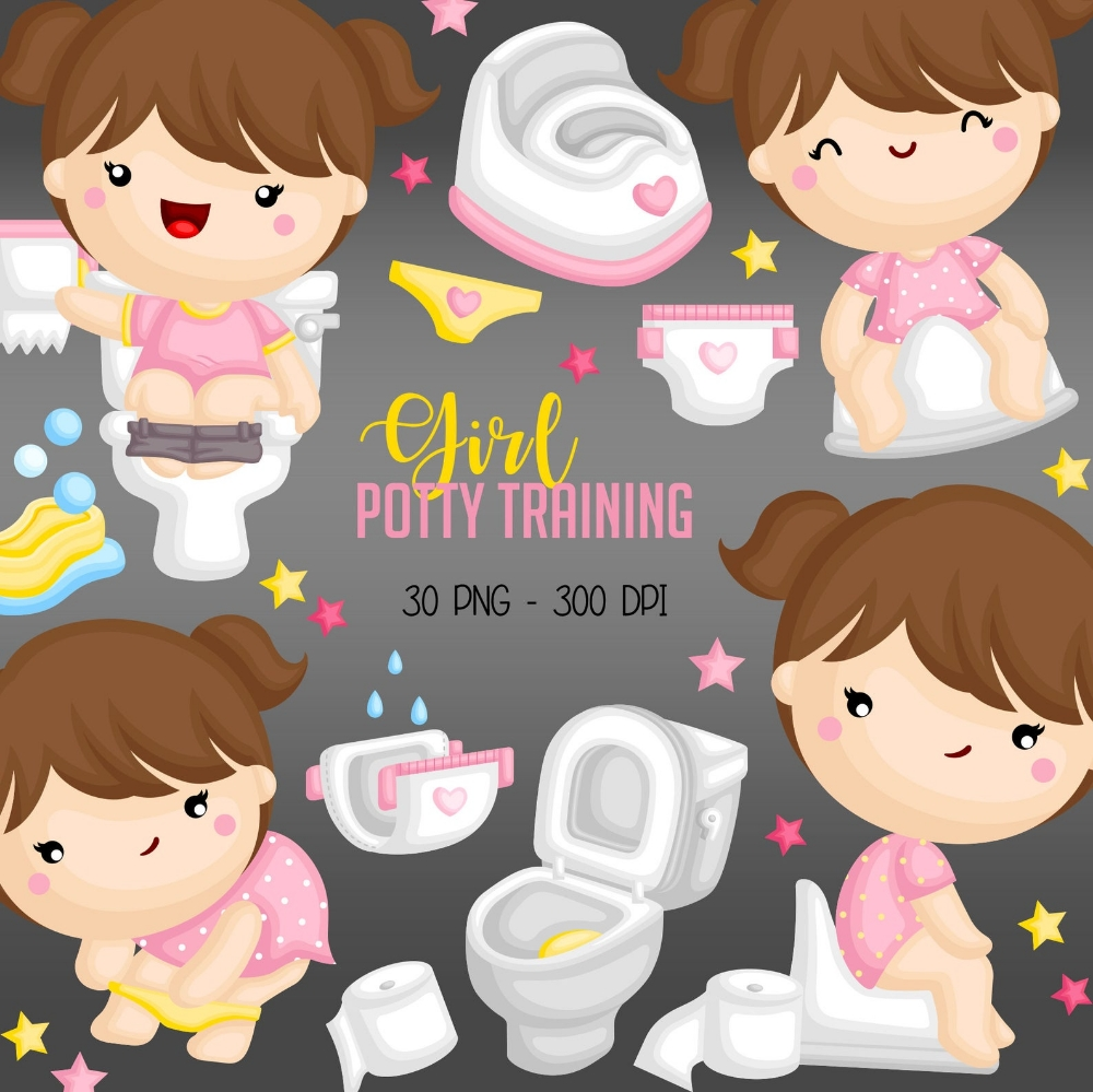 potty training clipart kids growing up clip art bathroom