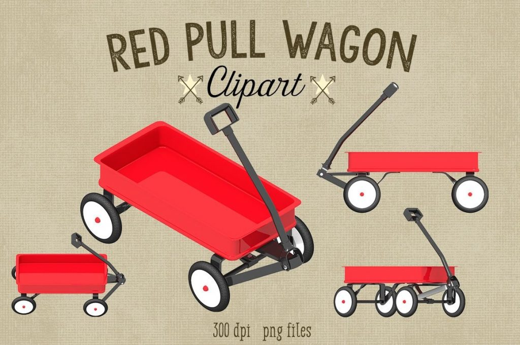 red wagon clipart graphics red wagon clip art wagon