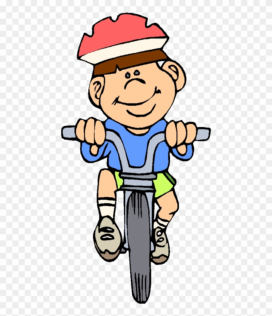 riding a bike he can ride a bike clipart png download