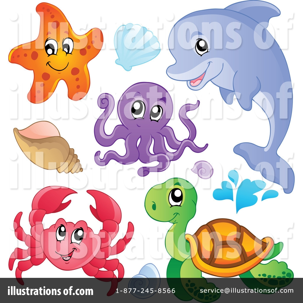 sea life clipart 1096924 illustration visekart
