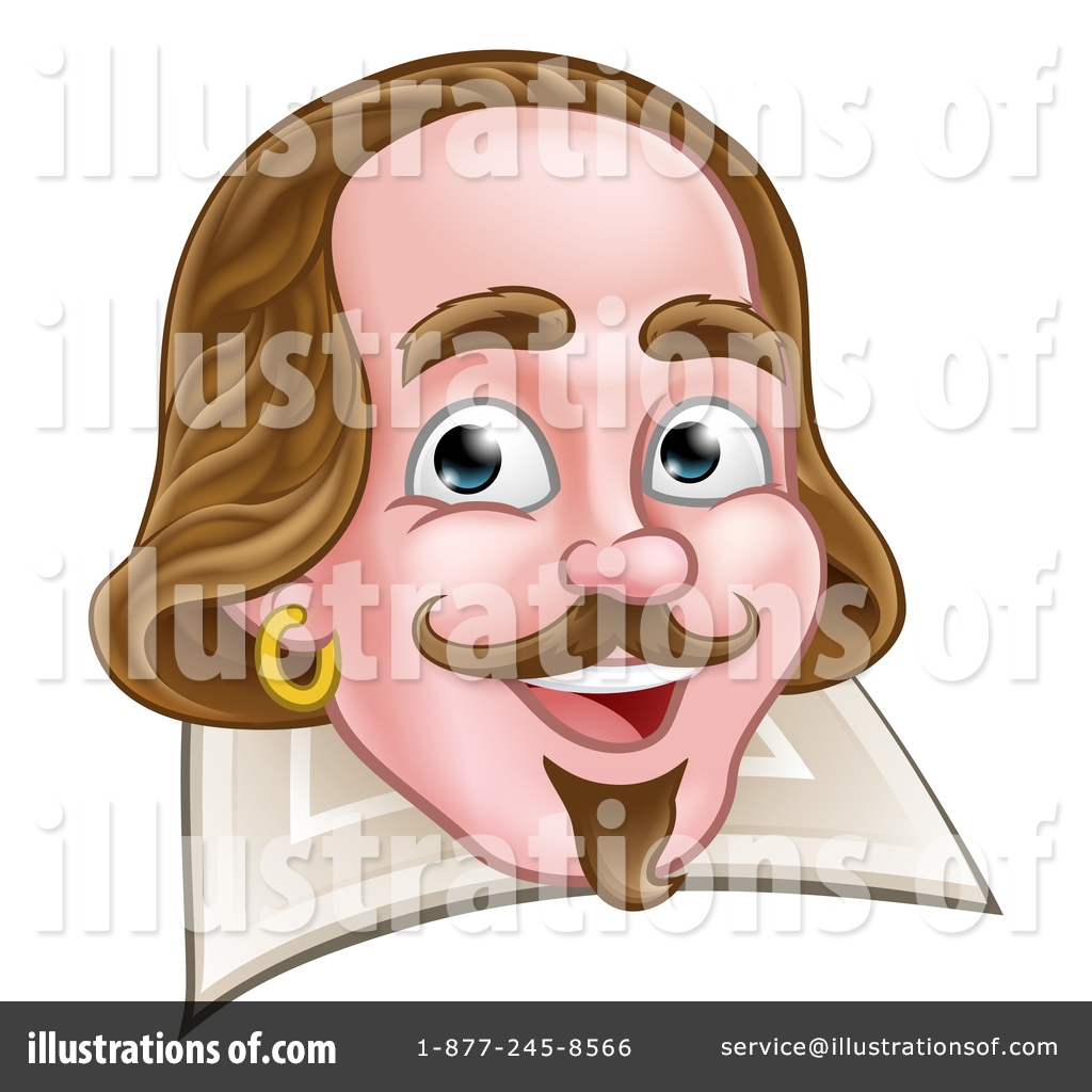 shakespeare clipart 1515768 illustration