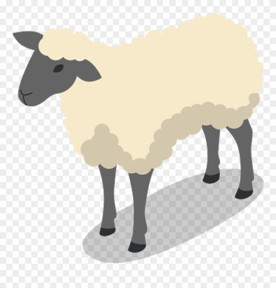sheep animal farm clipart 3601787 pinclipart