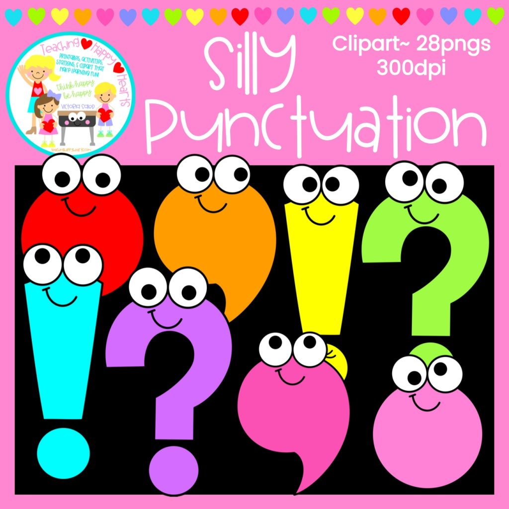 silly punctuation clipart punctuation clip art phonics