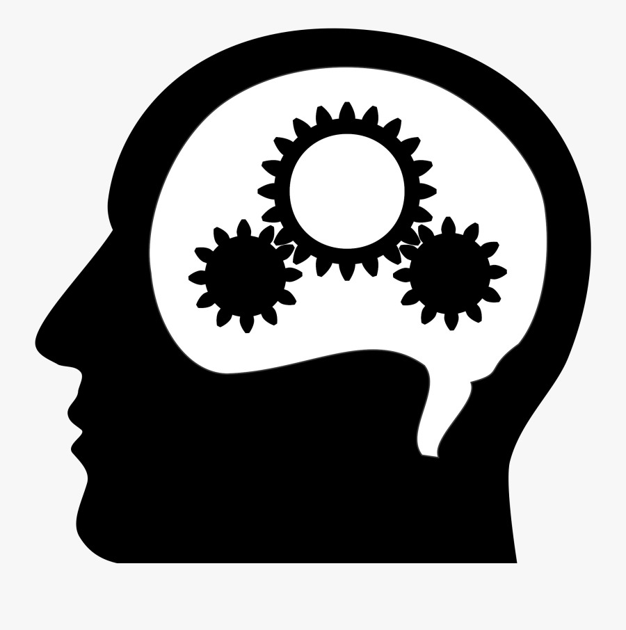 site image thinking brain clipart black and white free