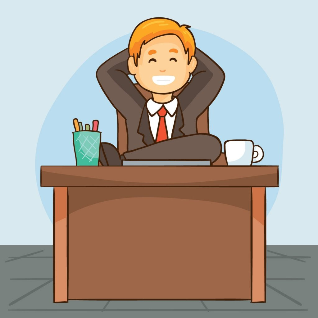 smiling boss vector download free vectors clipart