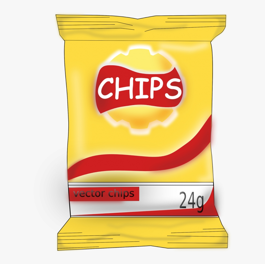 snacks clipart in snack collection potato chips clip art