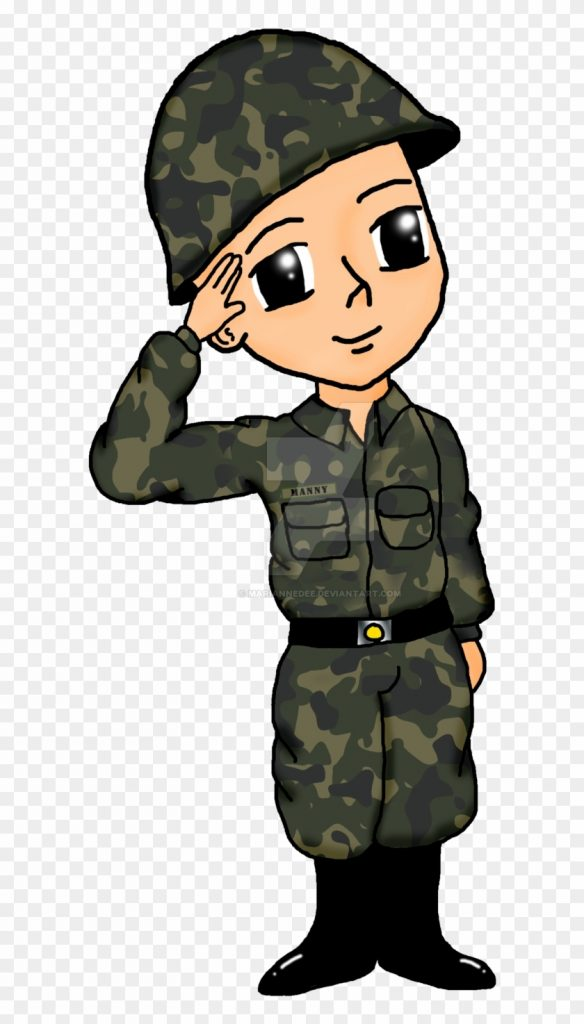 soldier drawing military army clip art sundalo drawing