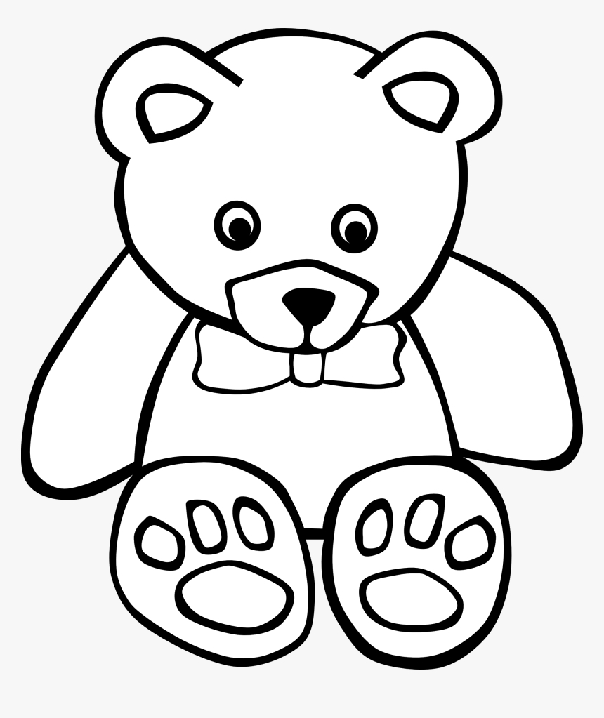 square clip art black and white free clipart images bear