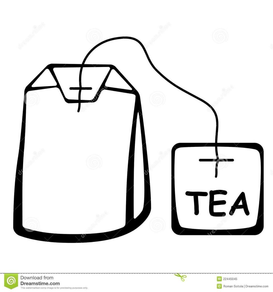 tea bag outline clipart clipartfest used tea bags tea