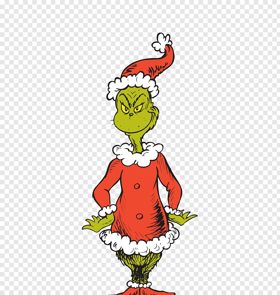 the grinch art how the grinch stole christmas santa claus