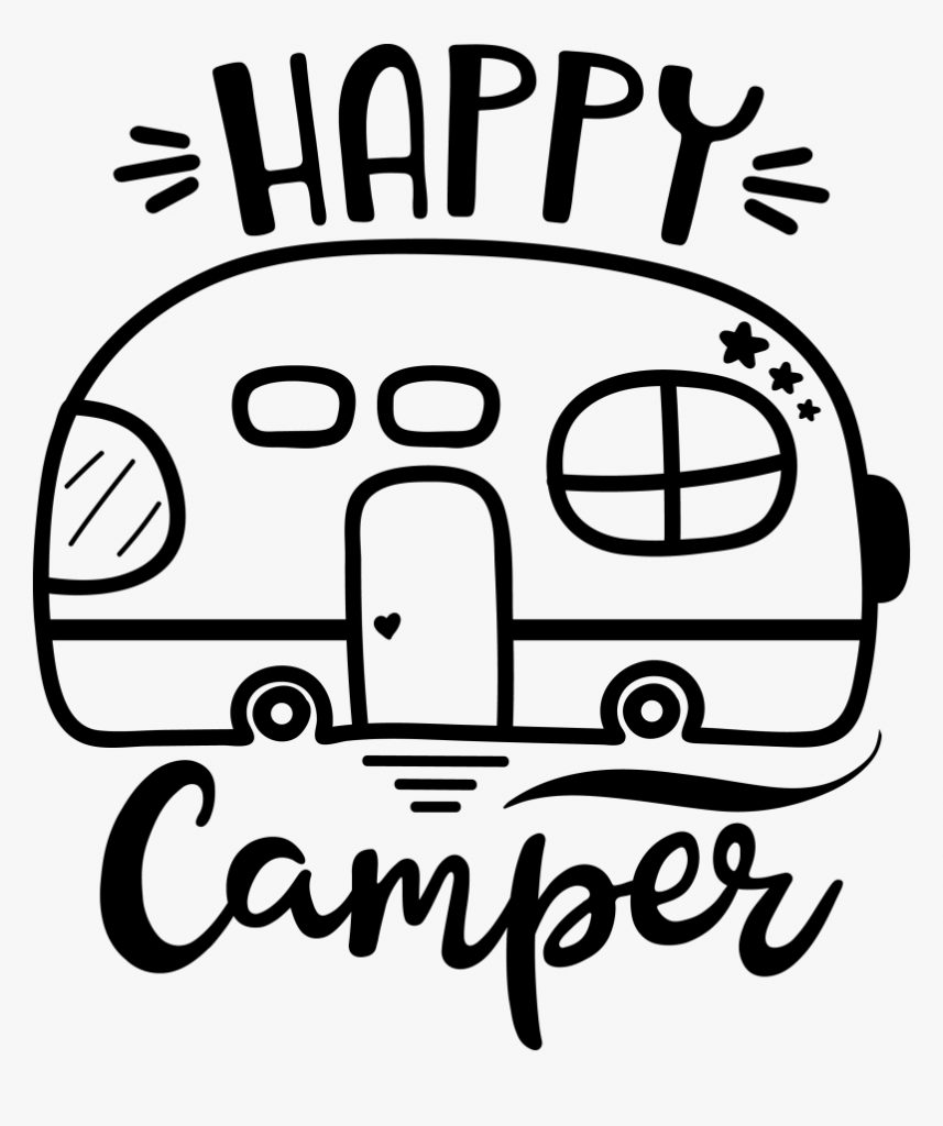 this adorable happy camper happy camper svg free hd png