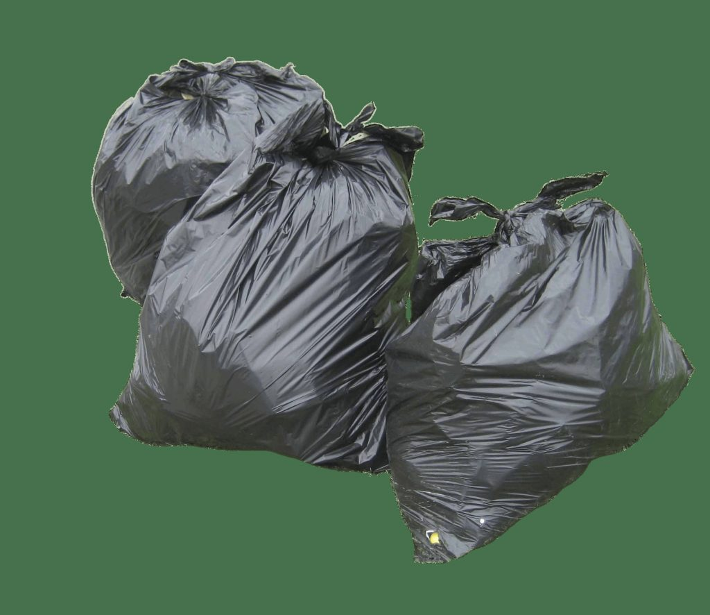three garbage bags transparent png stickpng