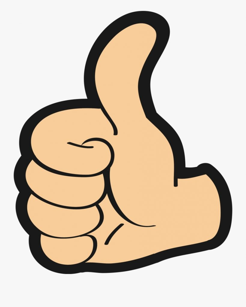 thumbartworkhand thumbs up clipart png free