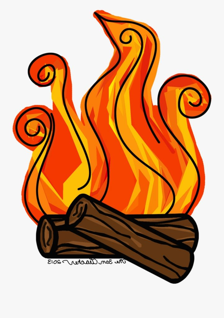 transparent around the campfire clipart fire log clip art