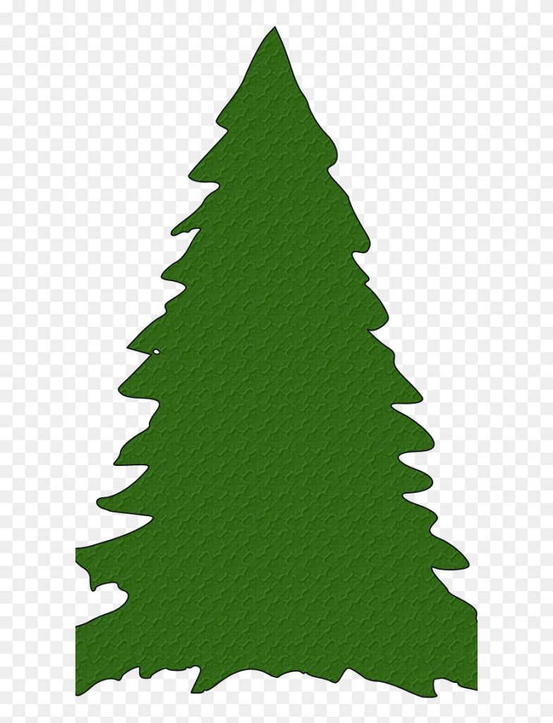transparent background christmas tree outline clipart png
