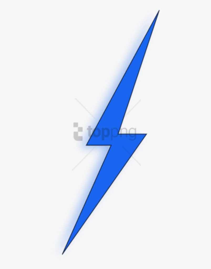 transparent lightning bolt clipart blue lightning bolt