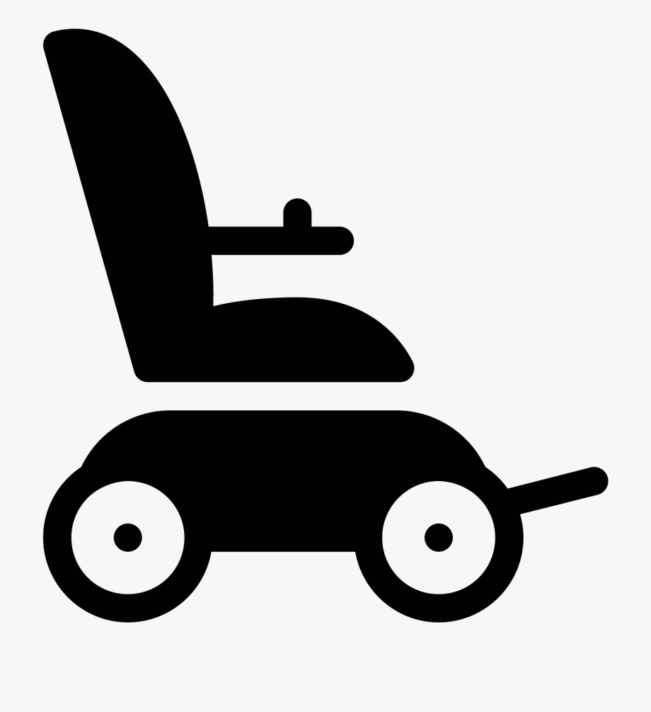 transparent wheel chair png electric wheelchair icon