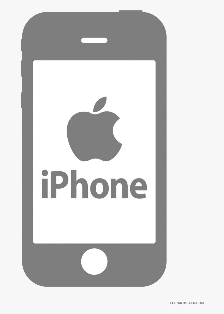 transparent white iphone png iphone clipart black and