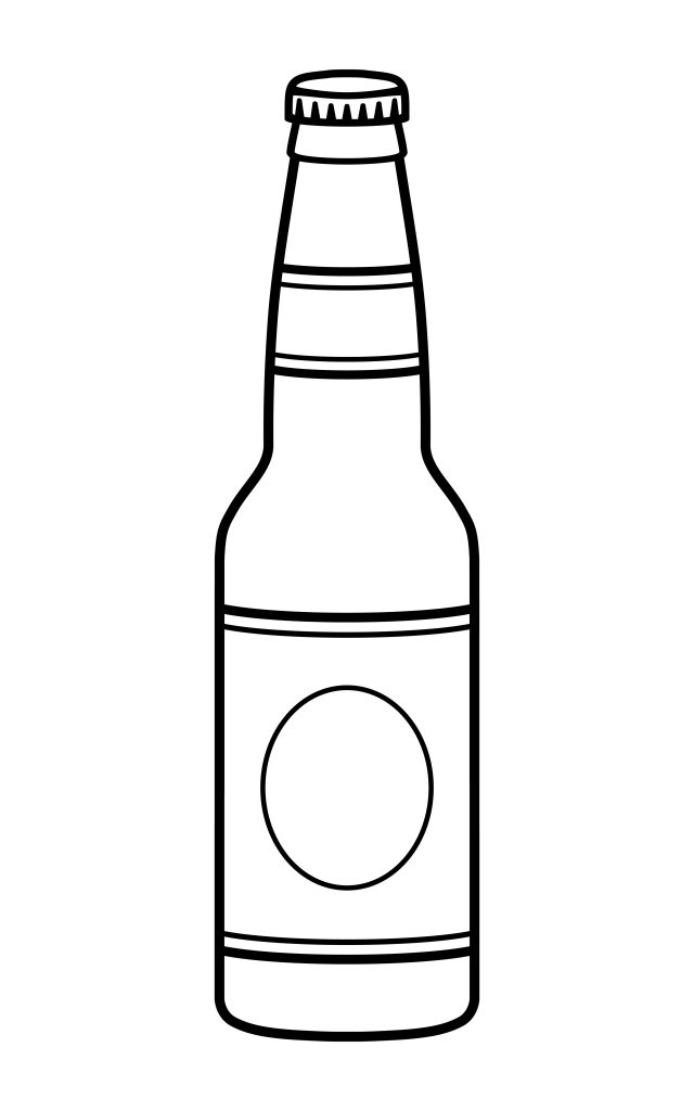 vector illustration of a beer bottle download free vectors