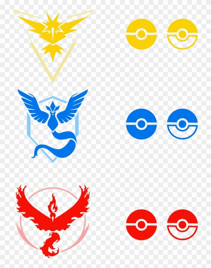 vector unity team animated pokemon go gif clipart
