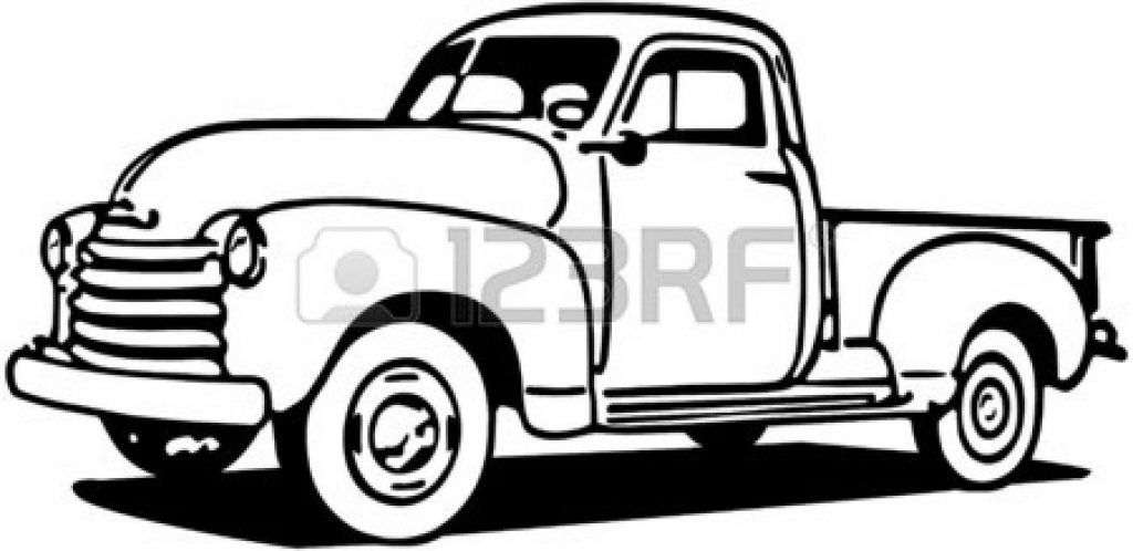 vintage truck coloring pages use these free images for