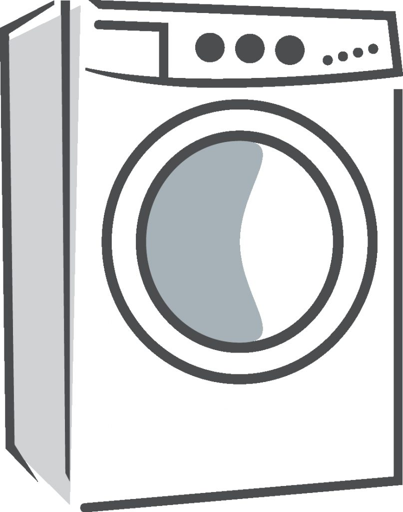 washing machine clipart black product line transparent