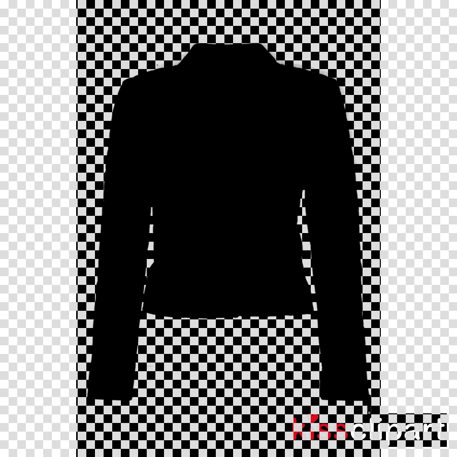 white background clipart clothing silhouette black