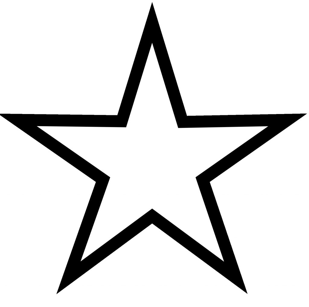 white star vector clipart library free clipart images