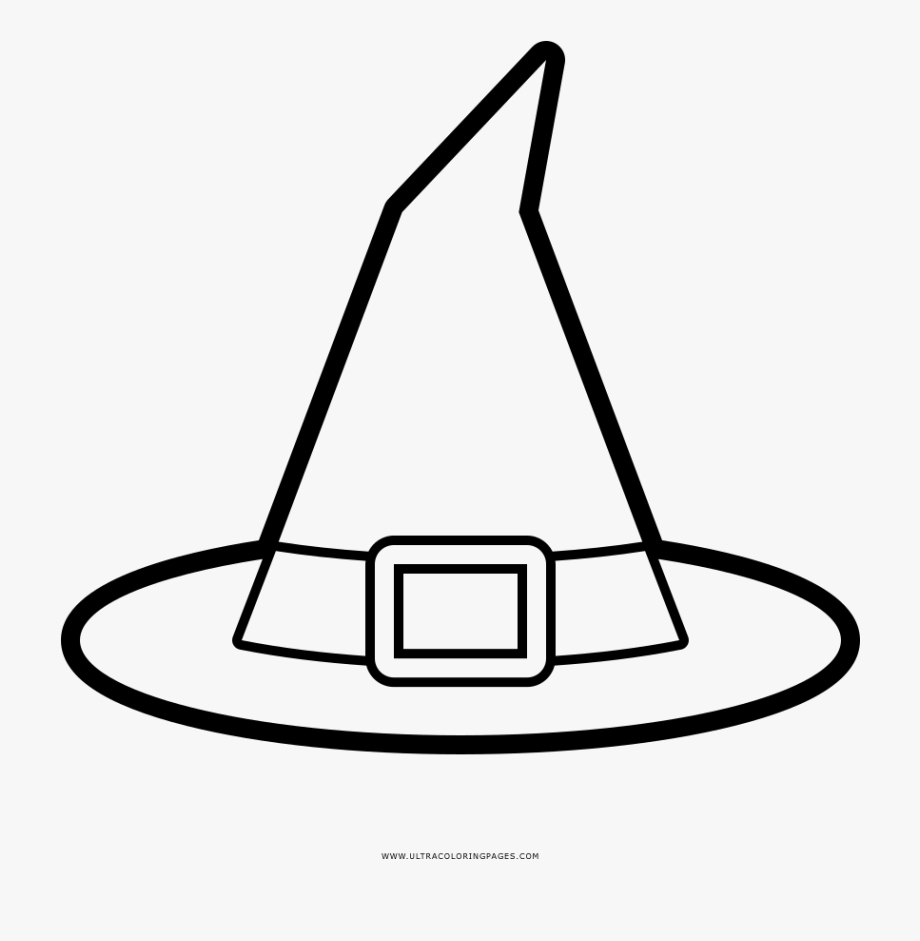 witch hat coloring page witch hat for coloring