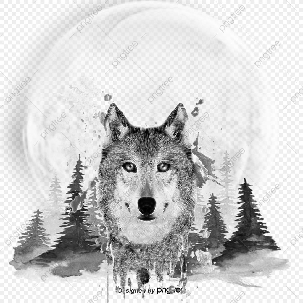 wolf wolf clipart painted wolf animal png transparent