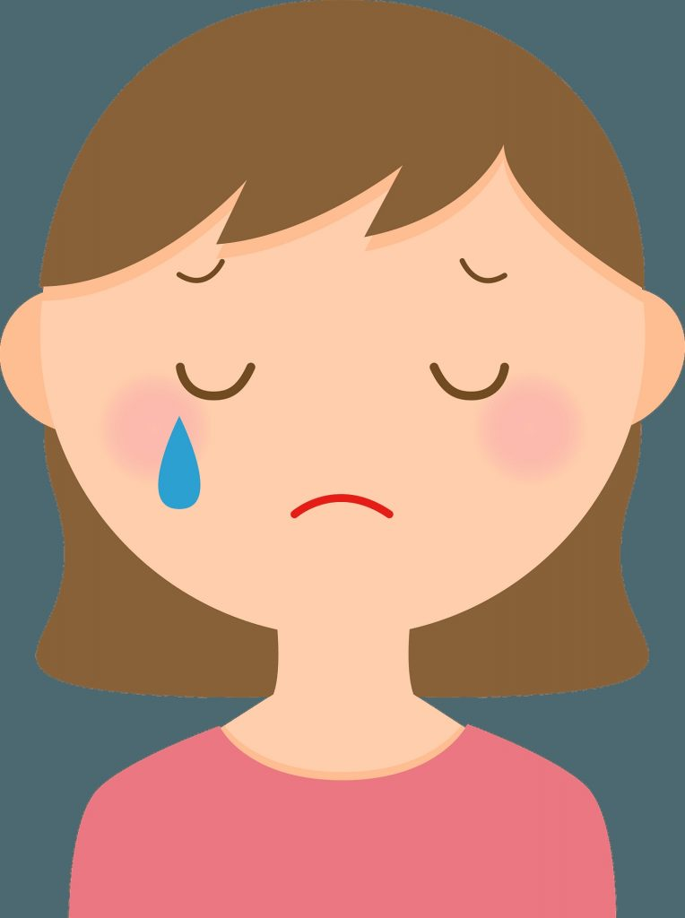 woman is crying tear clipart free download transparent