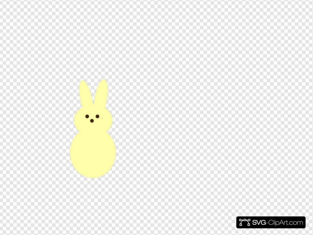 yellow peep svg vector yellow peep clip art svg clipart