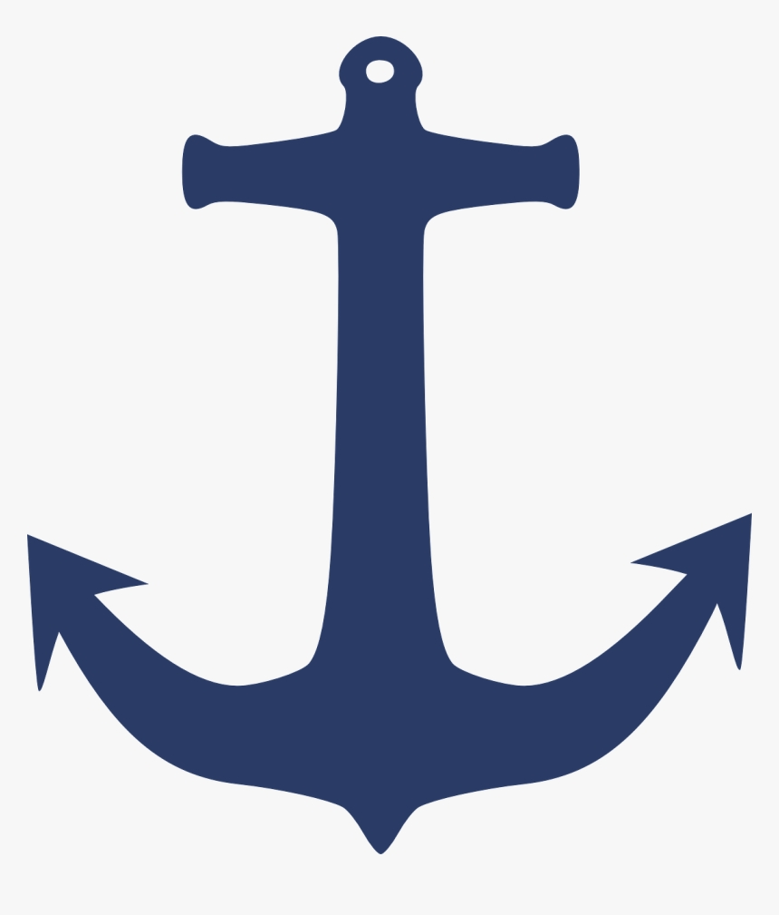 anchor clip art navy blue anchor clipart hd png download