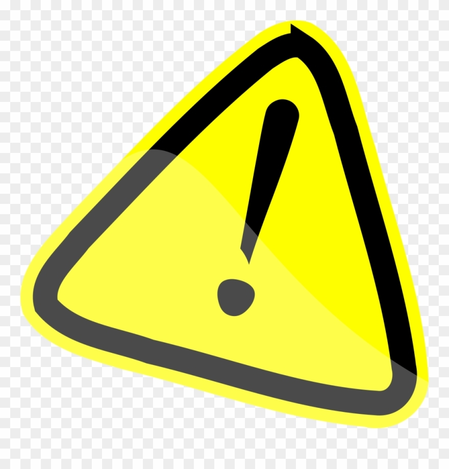 caution sign clip art warning sign clipartall risks and