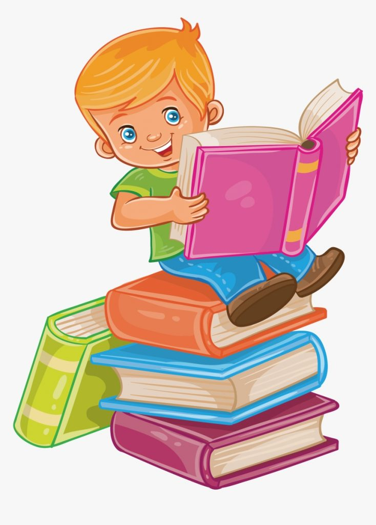 child reading a book clipart child reading book clip art