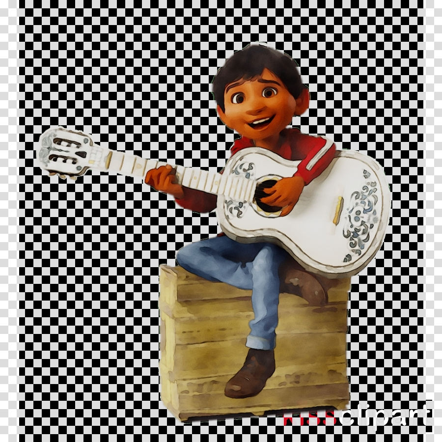 guitar cartoon clipart film guitar play transparent